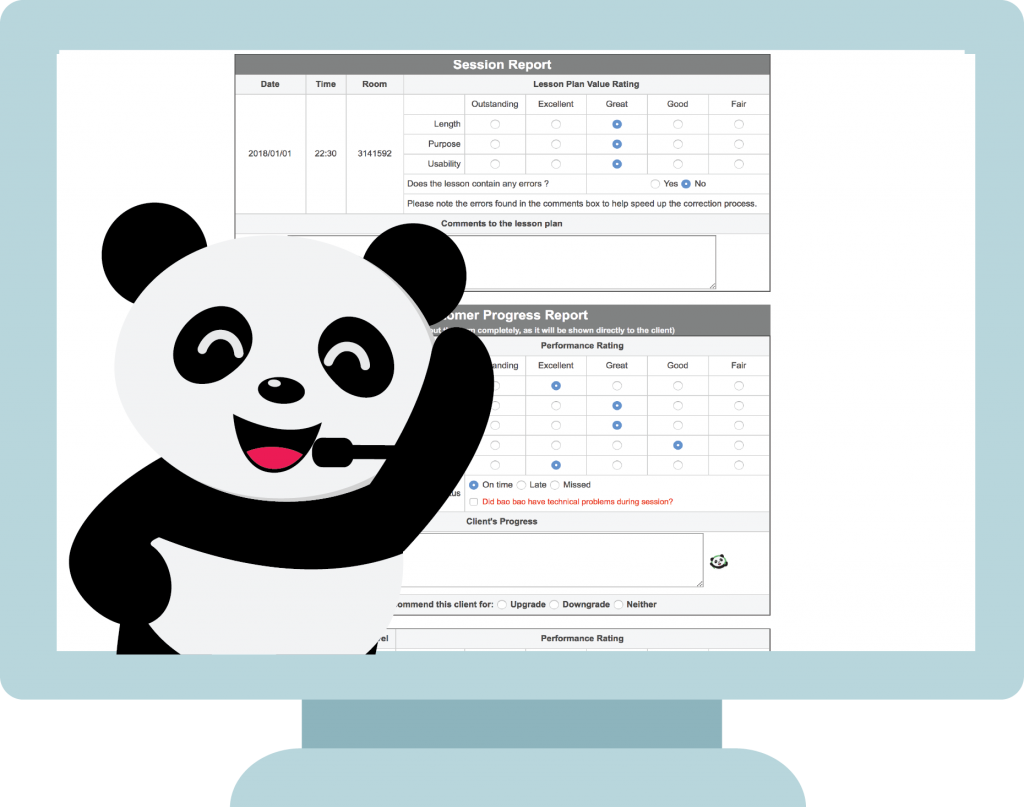 FeedbackPanda integration for TutorABC